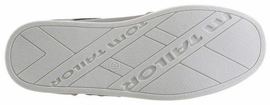 Tom Tailor Sneaker, im modischen Materialmix