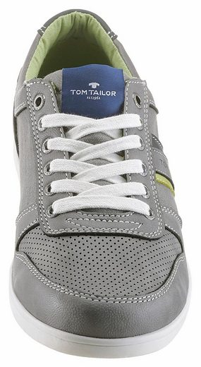Tom Tailor Sneaker, im modischen Materialmix