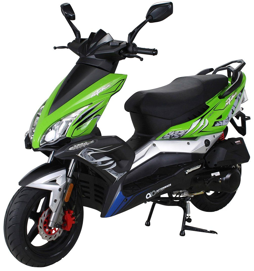ACTIONBIKES MOTORS Motorroller »Matador JJ125QT-17«, 125 ccm, 85 km/h, grün-schwarz
