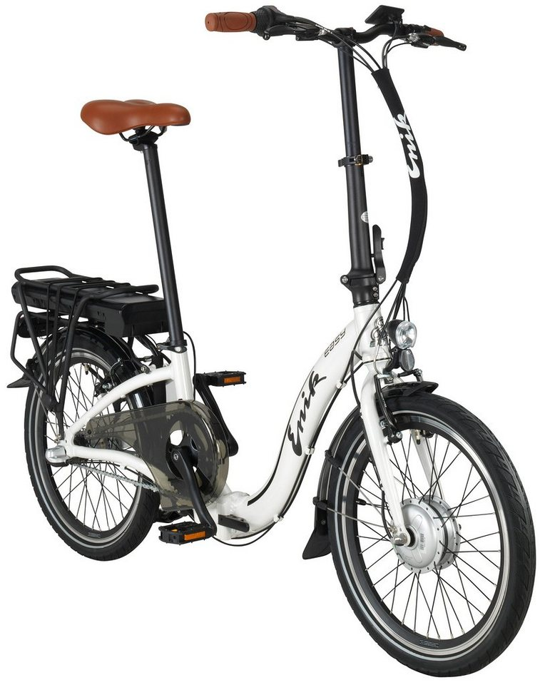 enik e bike klapprad easy 20 20 zoll 3 gang frontmotor 317 wh online kaufen otto. Black Bedroom Furniture Sets. Home Design Ideas