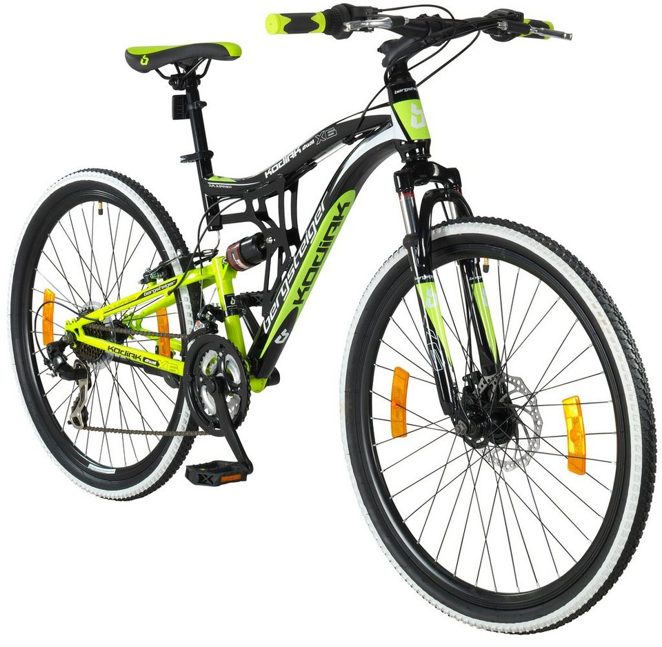 bergsteiger mountainbike kodiak 26 zoll 21 gang. Black Bedroom Furniture Sets. Home Design Ideas