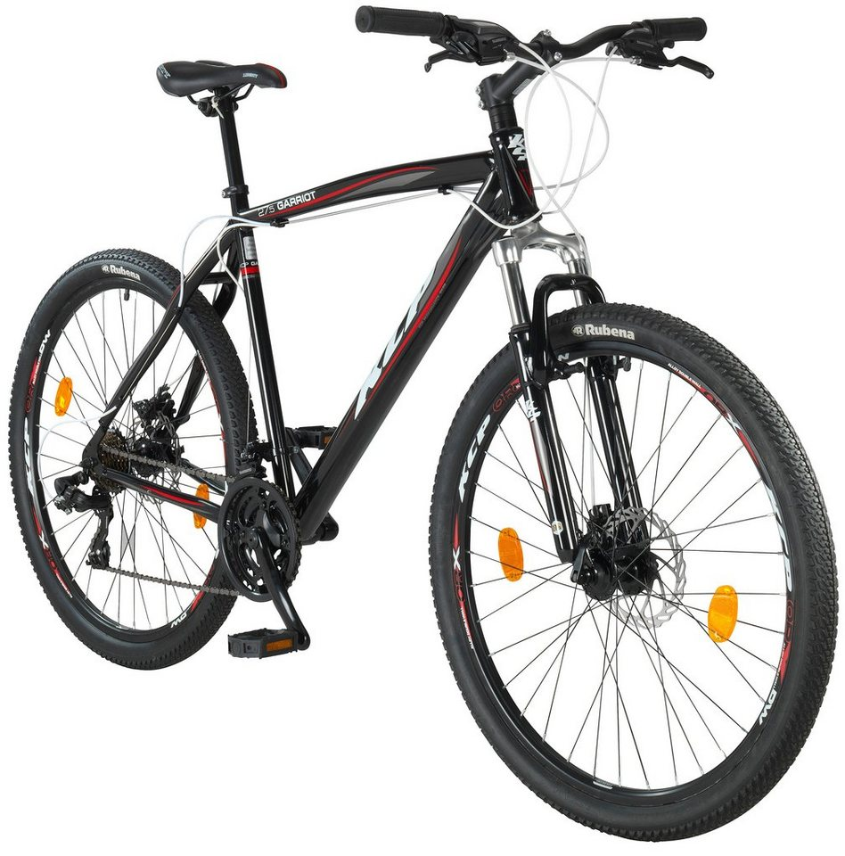 kcp mountainbike garriot 27 5 zoll 53cm rahmenh he 21. Black Bedroom Furniture Sets. Home Design Ideas