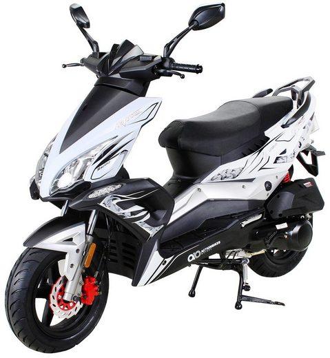 ACTIONBIKES MOTORS Motorroller »Matador JJ125QT-17«, 125 ccm, 85 km/h, weiß