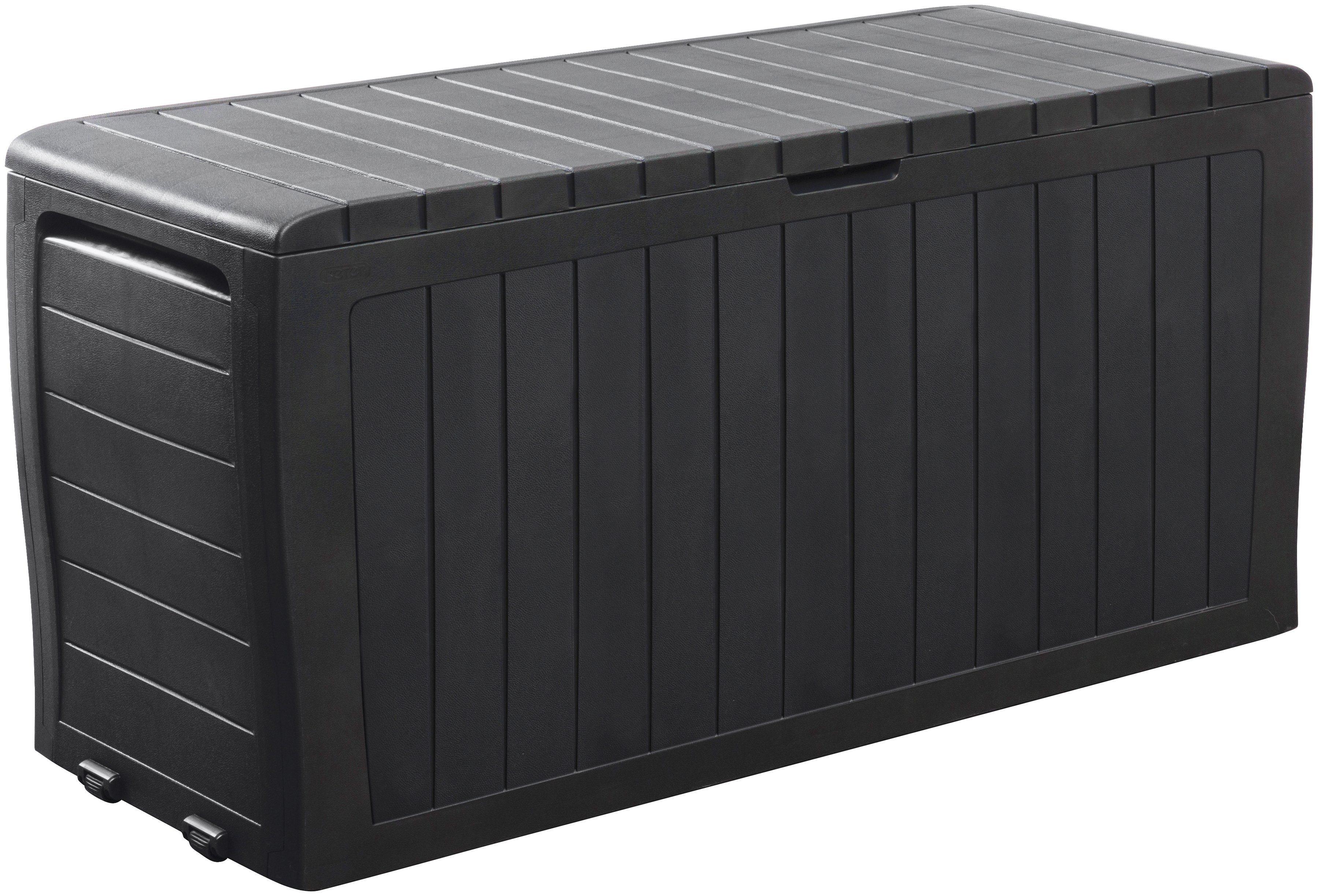 KETER Auflagenbox »Marvel Plus Box 270 l«, 116,7x44,7x57 cm, Polypropylen, anthrazit