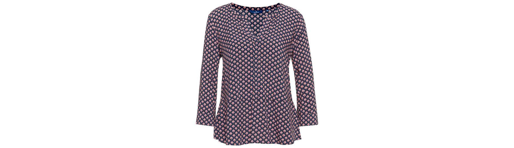 Tom Tailor Shirtbluse gemusterte Loose-Fit Bluse Großer Verkauf Zum Verkauf Günstiger Preis Top-Qualität Billig Verkauf Zu Kaufen Bekommen Billig Für Billig nnZlC