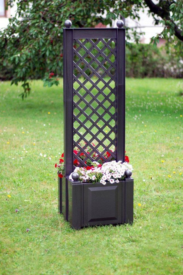 khw spalier mit beidseitigem pflanzkasten 43cm otto. Black Bedroom Furniture Sets. Home Design Ideas