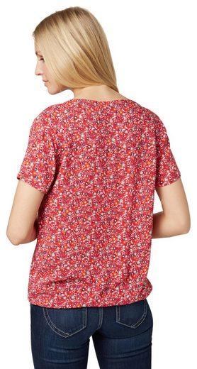 Tom Tailor Shirtbluse mit floralem Print