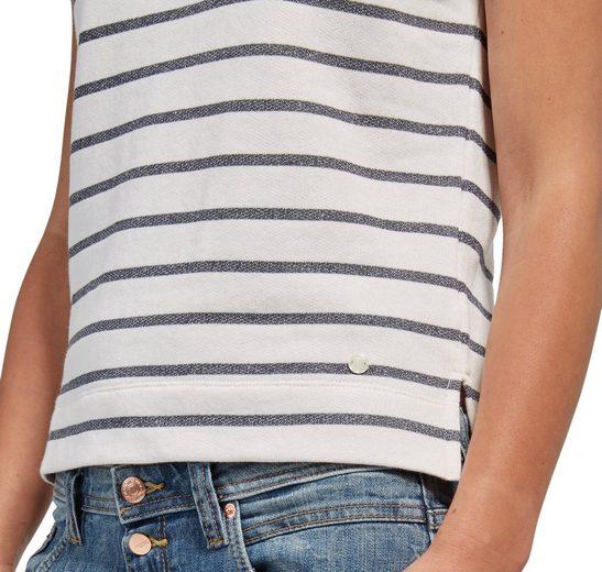 Tom Tailor Sweatshirt mit Spitze