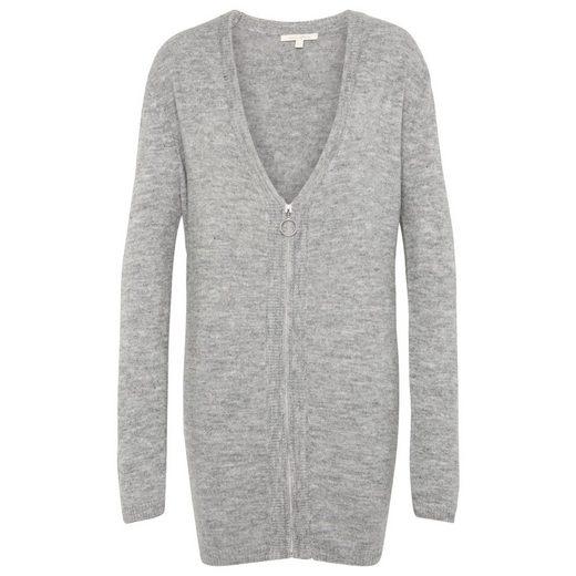 Tom Tailor Denim 2-in-1-Pullover mit Reißverschluss