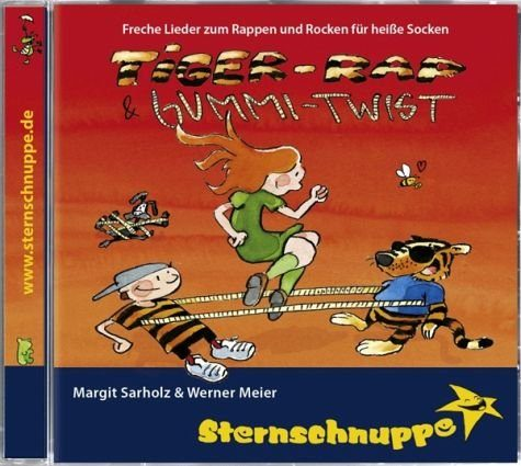 Audio CD »Sternschnuppe: Tiger-Rap & Gummi-Twist«