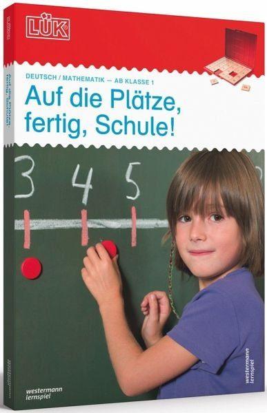 Audio-Cassette »LÜK-Set Auf die Plätze, fertig, Schule!«