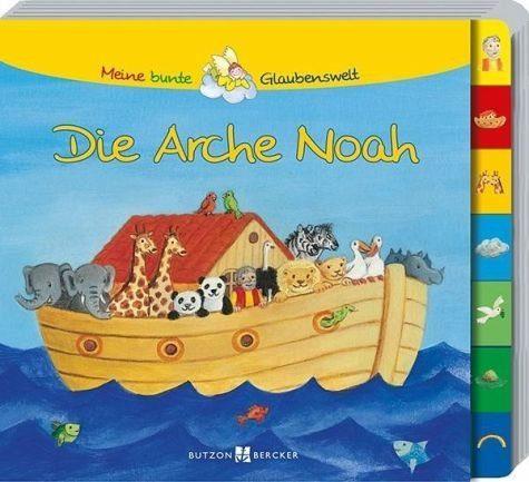 Buch mit Papp-Einband »Die Arche Noah«