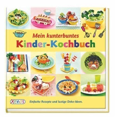 Gebundenes Buch »Mein kunterbuntes Kinder-Kochbuch«