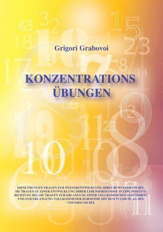 Broschiertes Buch »Konzentrationsübungen«