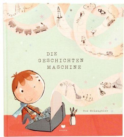 Gebundenes Buch »Die Geschichtenmaschine«