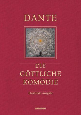 Buch mit Leinen-Einband »Die göttliche Komödie (Illustrierte...«