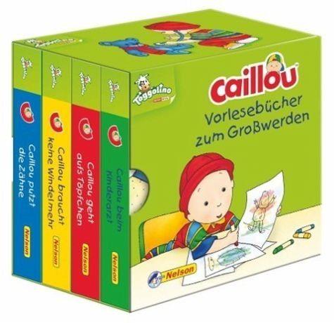 Buch mit Papp-Einband »Caillou: Vorlesebücher zum Großwerden«