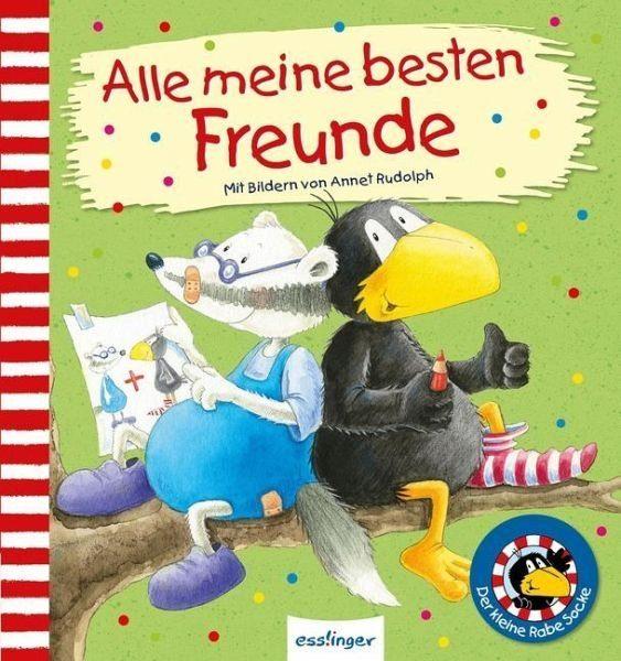 Gebundenes Buch »Der kleine Rabe Socke: Alle meine besten Freunde«