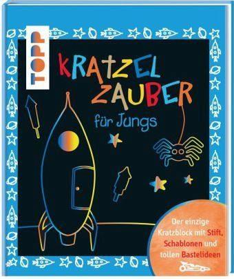 Gebundenes Buch »Kratzelzauber für Jungs«