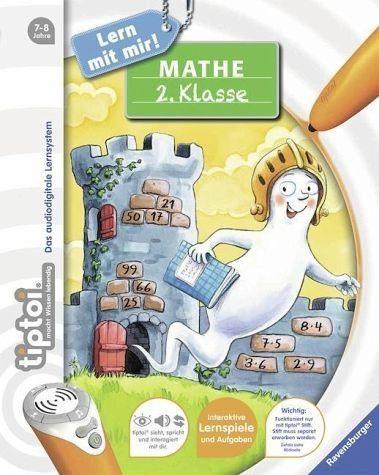 Broschiertes Buch »tiptoi® Mathe 2. Klasse«