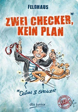 Broschiertes Buch »Zwei Checker, kein Plan Quinn & Spencer«