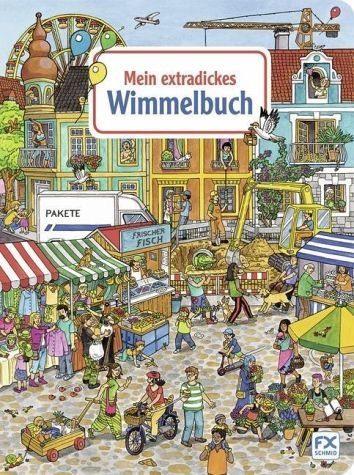Buch mit Papp-Einband »Mein extradickes Wimmelbuch«