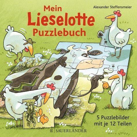 Gebundenes Buch »Mein Lieselotte-Puzzlebuch«