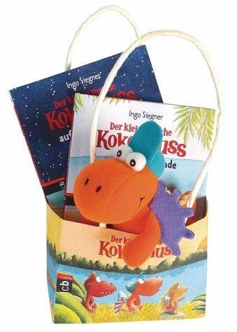 Gebundenes Buch »Der kleine Drache Kokosnuss - Geschenktüte«