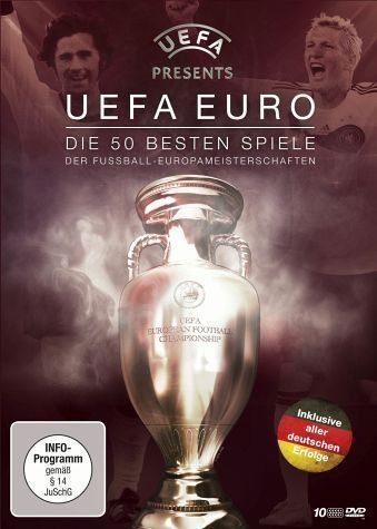 DVD »UEFA Euro - Die 50 besten Spiele (10 Discs)«