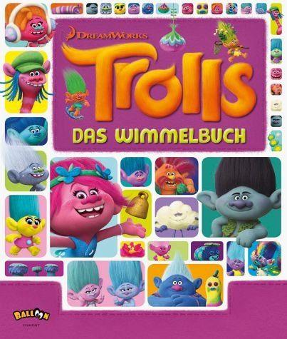 Gebundenes Buch »Trolls - Das Wimmelbuch«