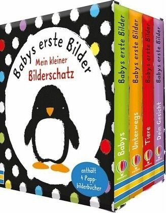 Buch mit Papp-Einband »Babys erste Bilder: Mein kleiner Bilderschatz«