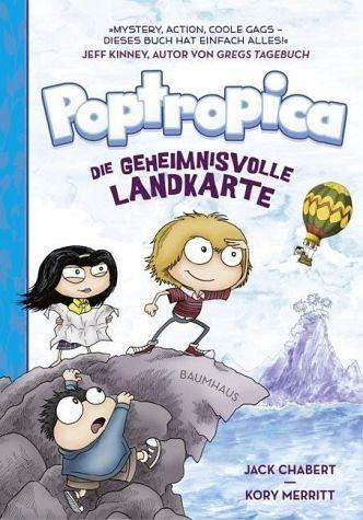 Gebundenes Buch »Die geheimnisvolle Landkarte / Poptropica Bd.1«