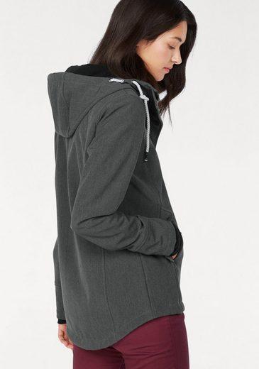 Ocean Sportswear Softshelljacke, Wasserabweisend, winddicht