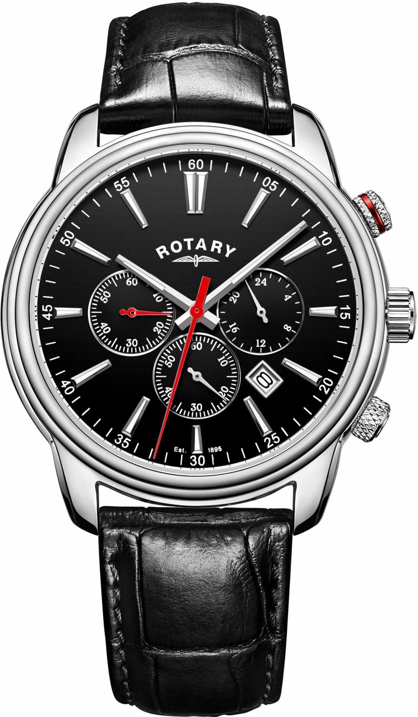 ROTARY Chronograph »Monaco, GS05083/04«