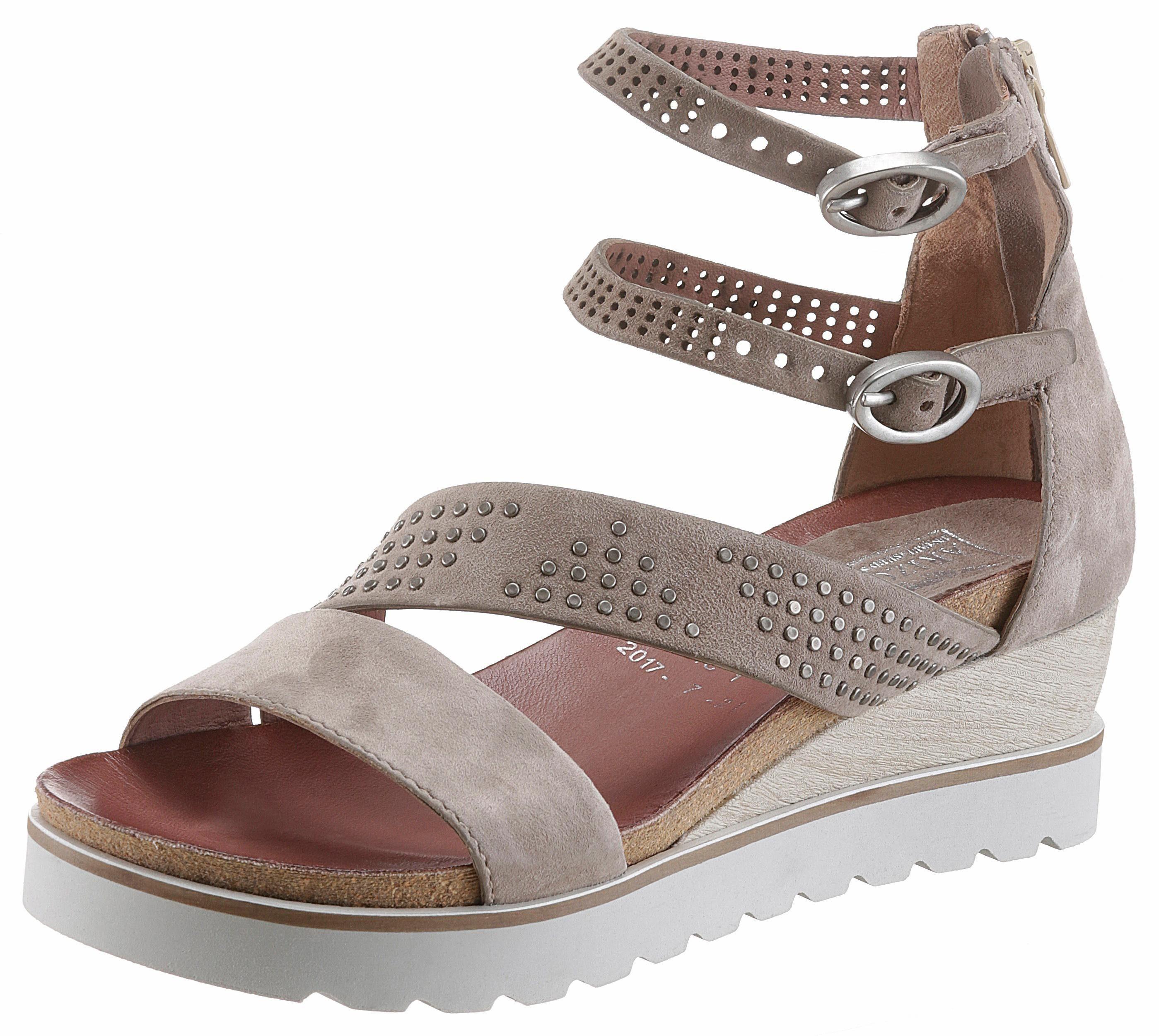 Arizona Sandalette, mit modischen Nieten kaufen  taupe