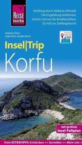 Broschiertes Buch »Reise Know-How InselTrip Korfu«