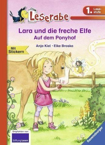 Gebundenes Buch »Lara und die freche Elfe. Auf dem Ponyhof«