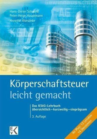 Broschiertes Buch »Körperschaftsteuer - leicht gemacht«