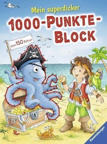 Broschiertes Buch »Mein superdicker 1000-Punkte-Block«