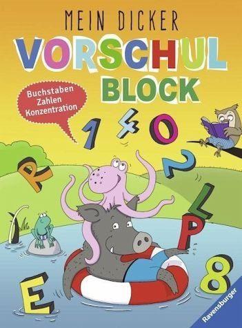 Broschiertes Buch »Mein dicker Vorschulblock«