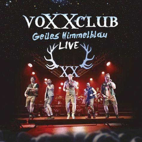 Audio CD »voXXclub: Geiles Himmelblau-Live«