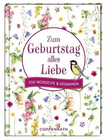 Gebundenes Buch »Zum Geburtstag alles Liebe«