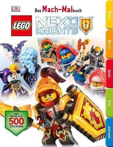 Broschiertes Buch »Das Mach-Malbuch LEGO® NEXO KNIGHTS(TM)«