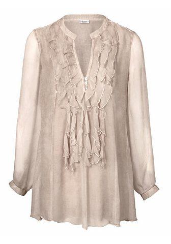 HEINE CASUAL Ilgi marškiniai iš šilkas