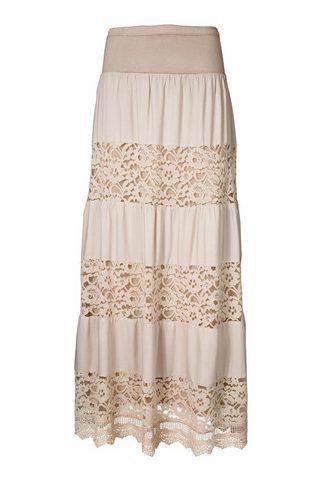 HEINE CASUAL Maxi ilgio sijonas su nėrinių
