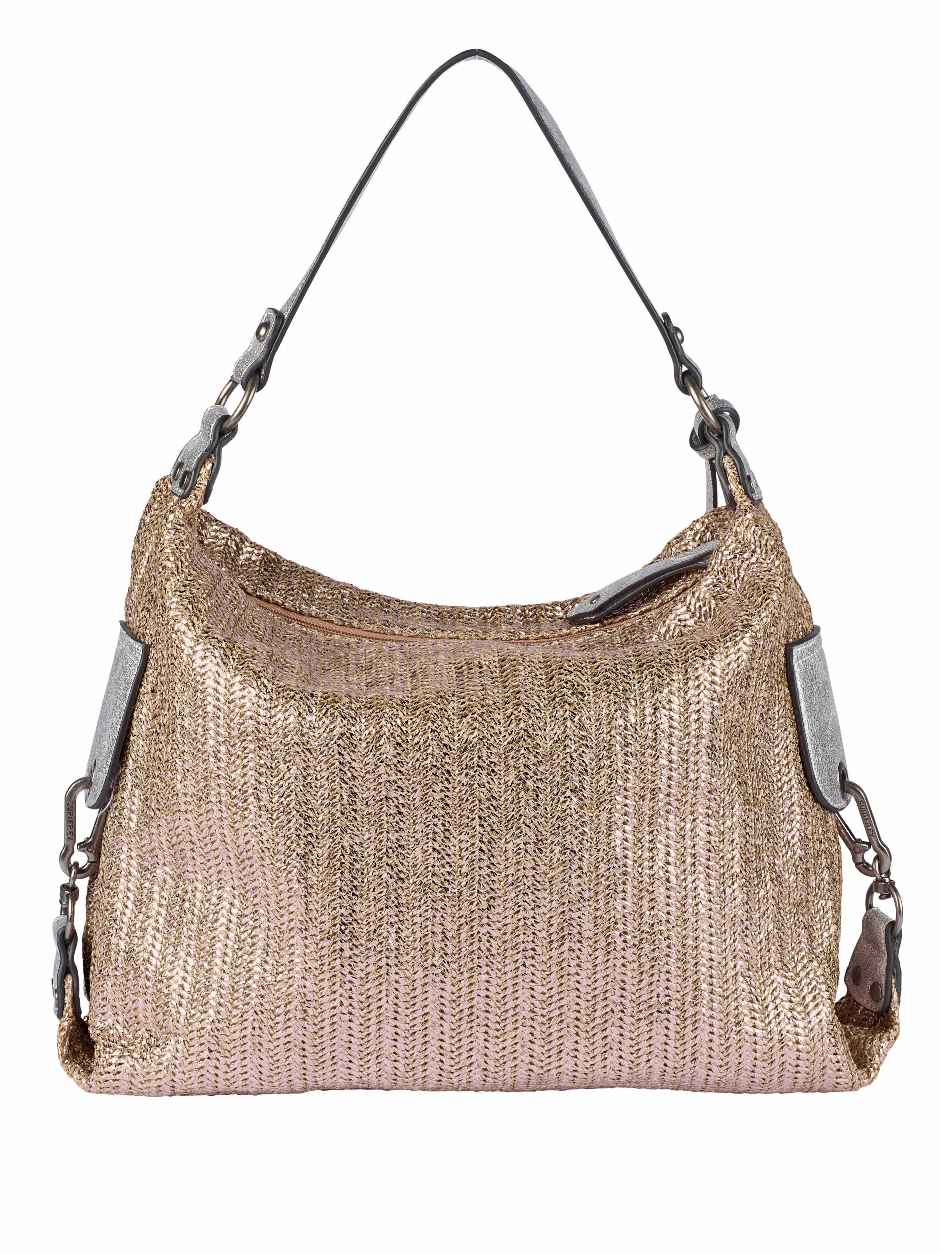 Suri Frey Tasche mit metalliceffekt
