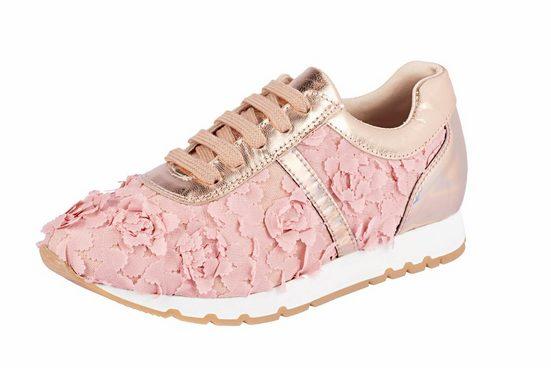 Heine Sneaker Avec Application De Fleurs