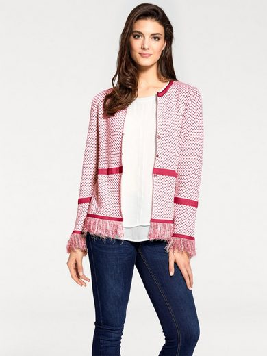 Patrizia Dini By Heine Short Sweater With Fringes