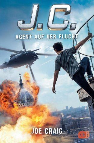 Broschiertes Buch »J.C. Agent auf der Flucht / Agent J.C. Bd.2«
