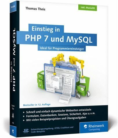 Broschiertes Buch »Einstieg in PHP 7 und MySQL«